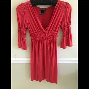 Bell sleeve summer dress